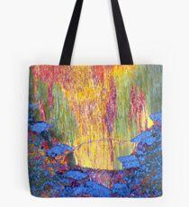 Iron Eruption (Tiger Eye) Tote Bag