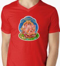 Ganesh - Hindu God - Bunch of Bhagwans Men's V-Neck T-Shirt