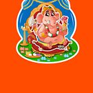 Ganesh - Hindu God - Bunch of Bhagwans by hinducloud