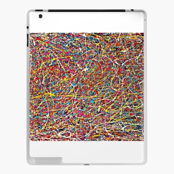 Original Abstract Jackson Pollock Painting Style  iPad Skin