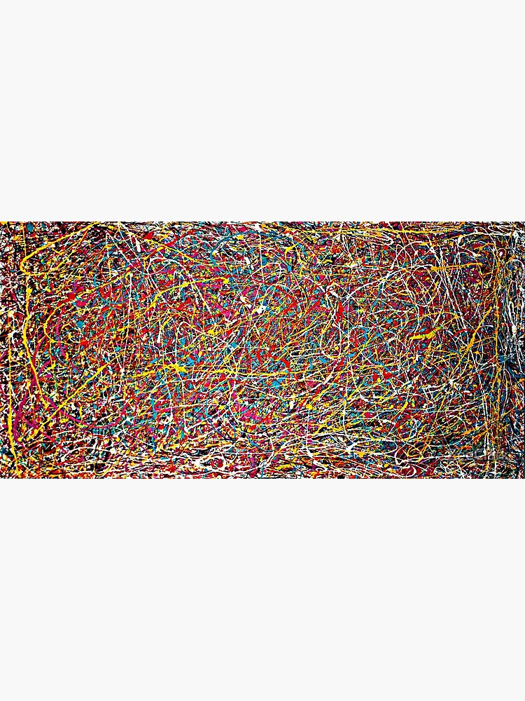 Original Abstract Jackson Pollock Painting Style  by ZeeClark