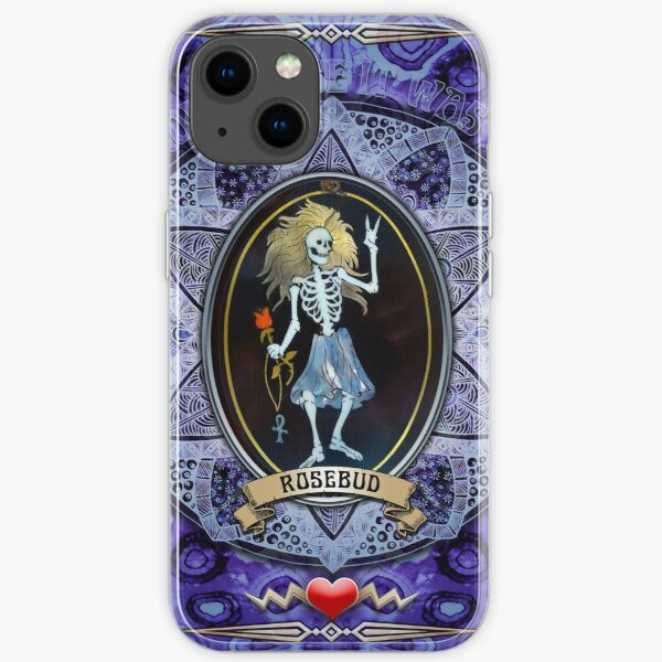 Rosebud iPhone Soft Case