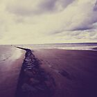 Beach- Normandie by Marie Charrois