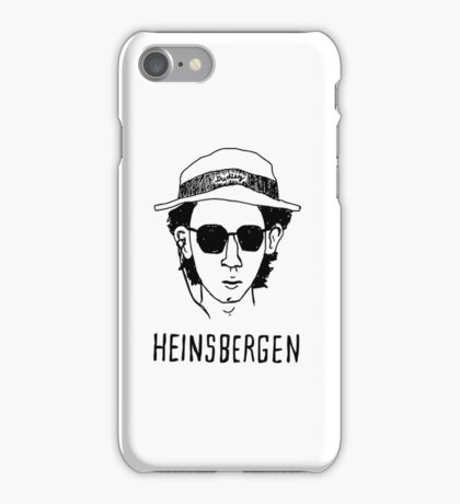 Heinsbergen (breaking bad) iPhone Case/Skin
