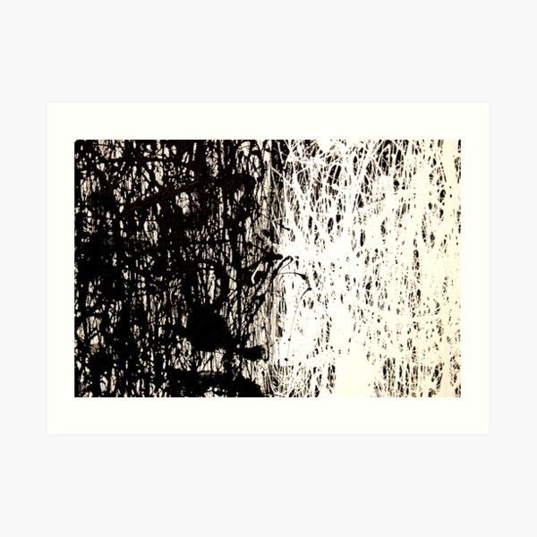 Modern Abstract Jackson Pollock Painting Original Art Art Print