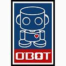 O'BOTs Spread Love 2.0 by Carbon-Fibre Media