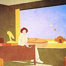 The Desert Motel by ninjaforhire