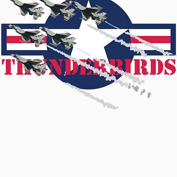 USAF Thunderbirds by aviationart