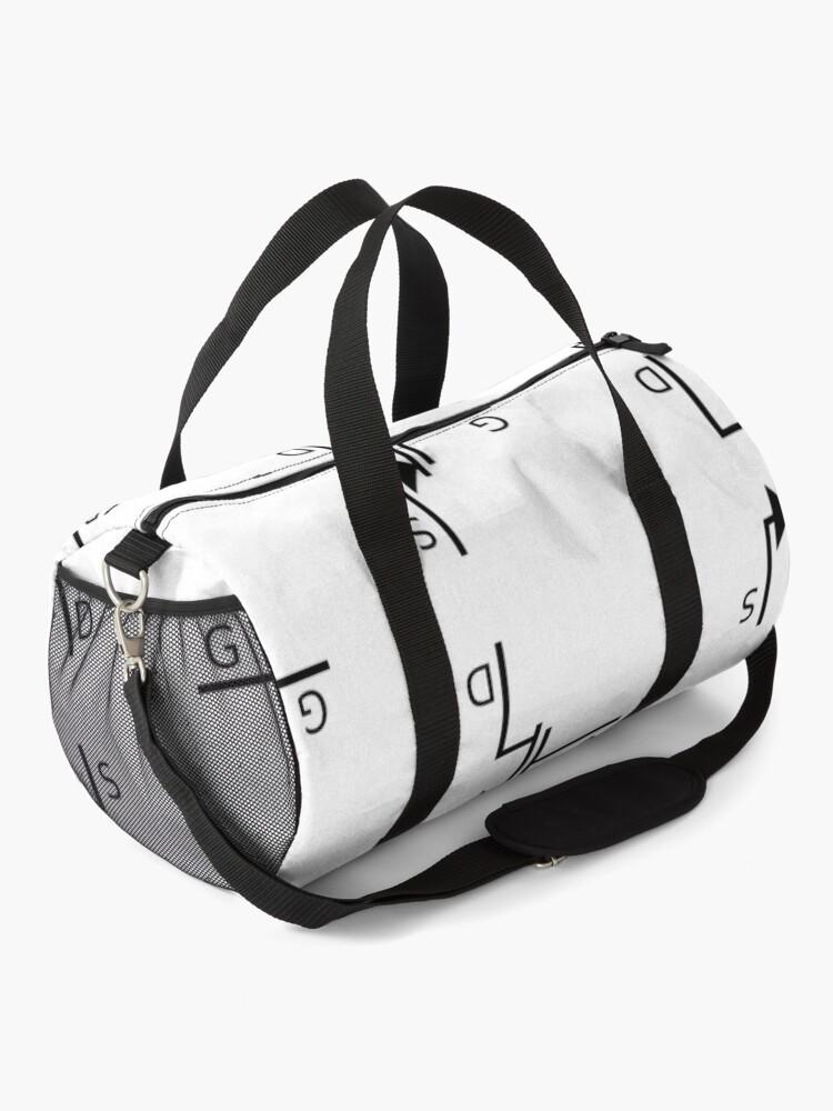 Alternate view of Mosfet symbol, #mosfet, #symbol, #MosfetSymbol, #SymboleMosfet Duffle Bag