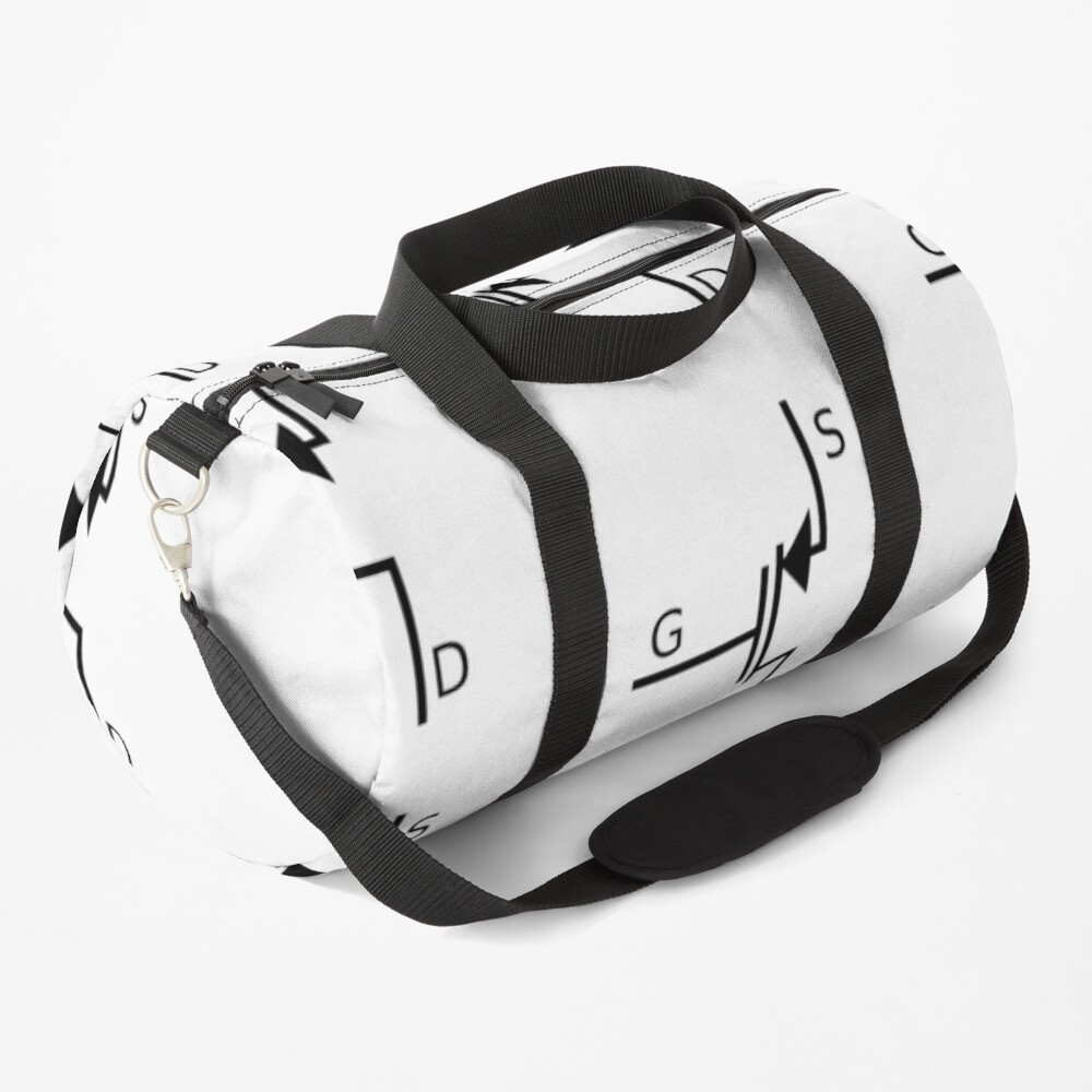 Mosfet symbol, #mosfet, #symbol, #MosfetSymbol, #SymboleMosfet Duffle Bag