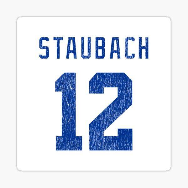 Staubach Sticker