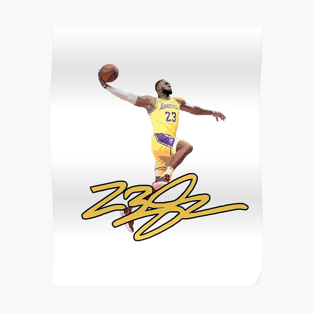 Lebron James Signature Basketball T
