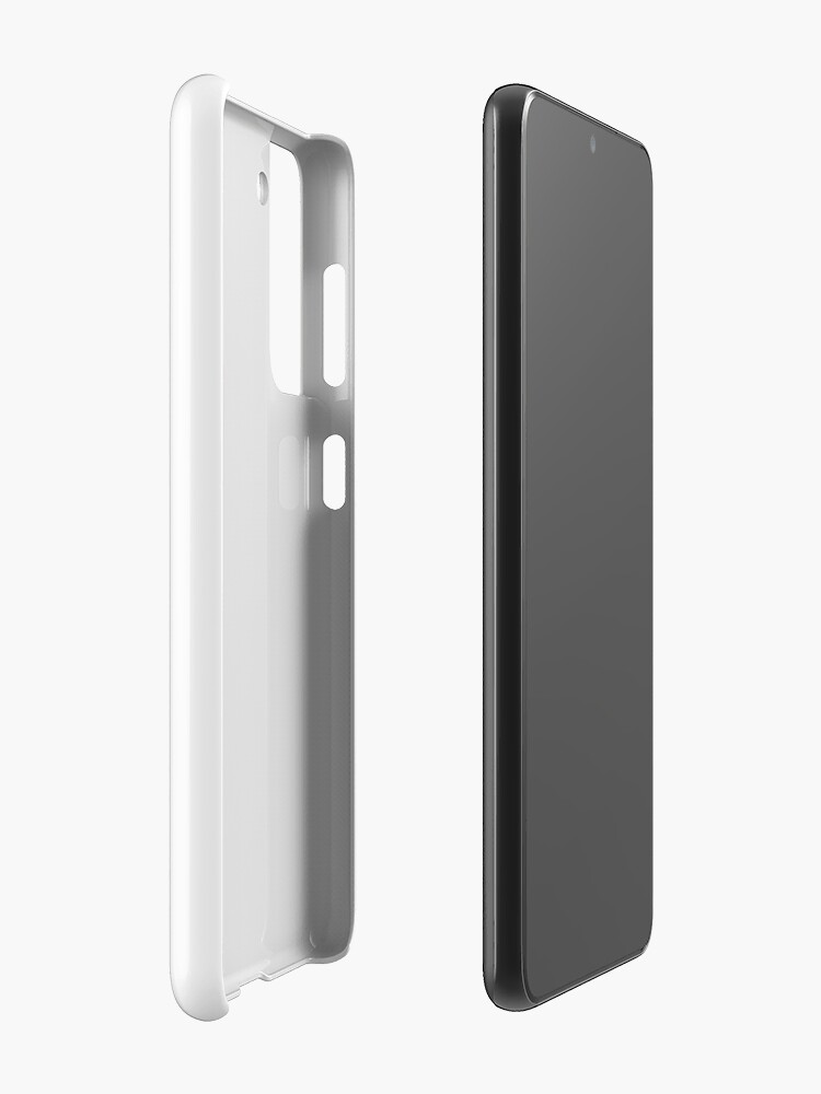 Alternate view of Hardcore Plantivore Black Case & Skin for Samsung Galaxy