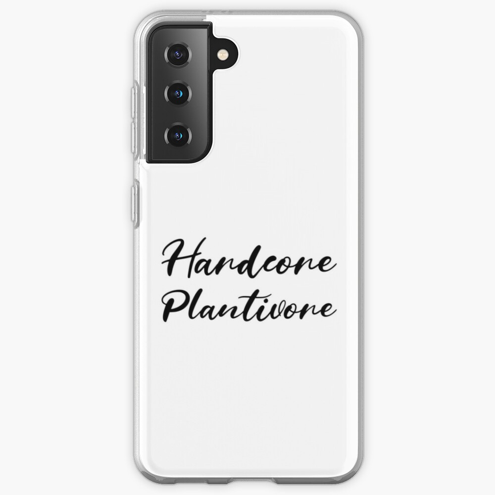 Hardcore Plantivore Black Case & Skin for Samsung Galaxy