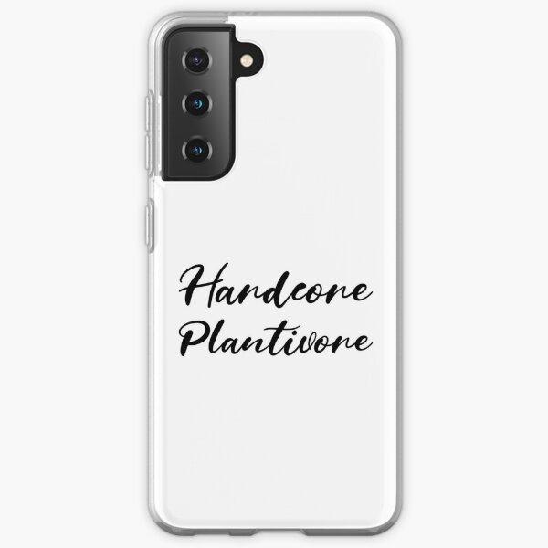 Hardcore Plantivore Black Samsung Galaxy Soft Case