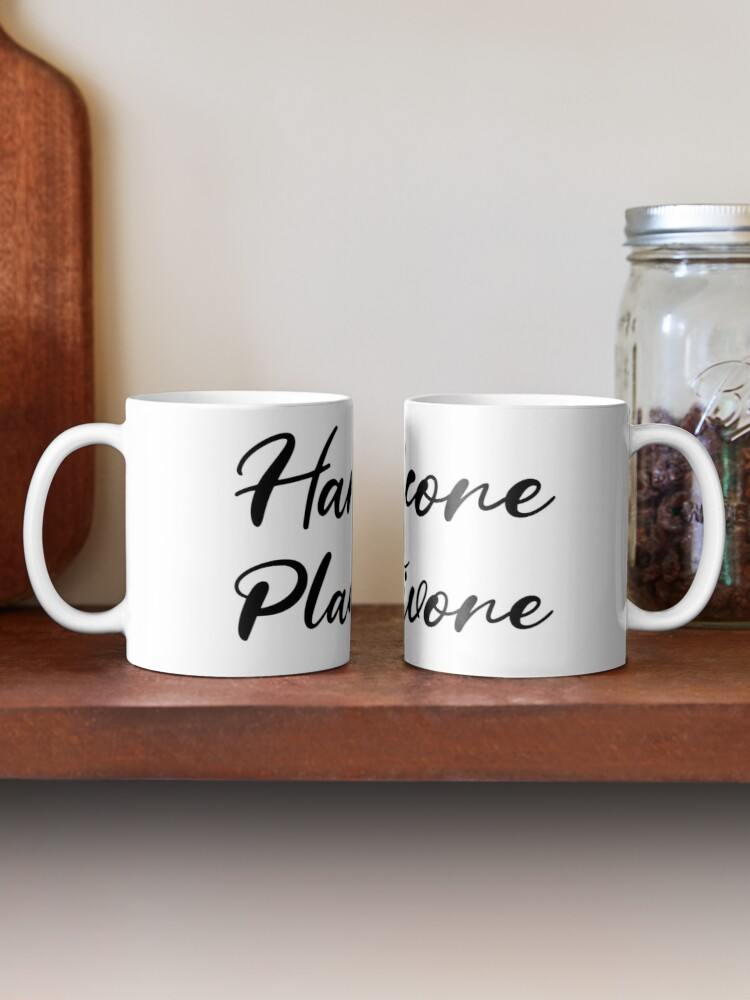 Alternate view of Hardcore Plantivore Black Mug