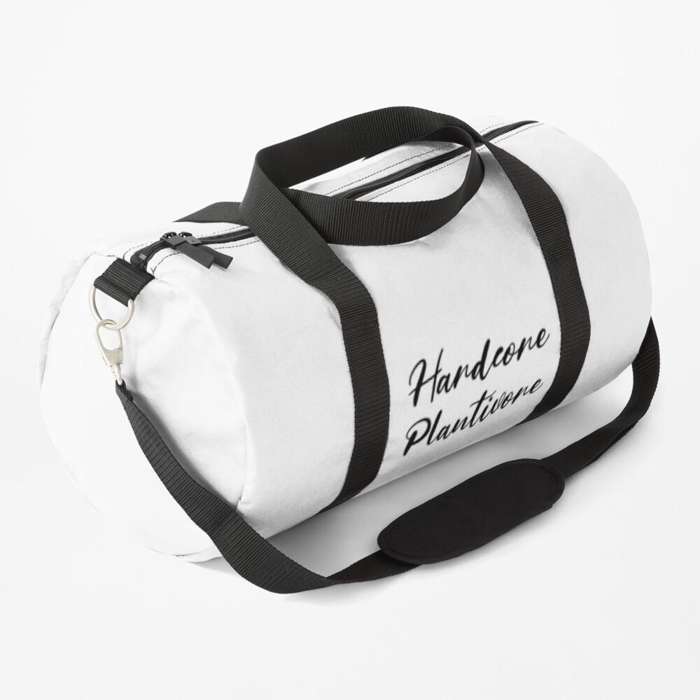 Hardcore Plantivore Black Duffle Bag