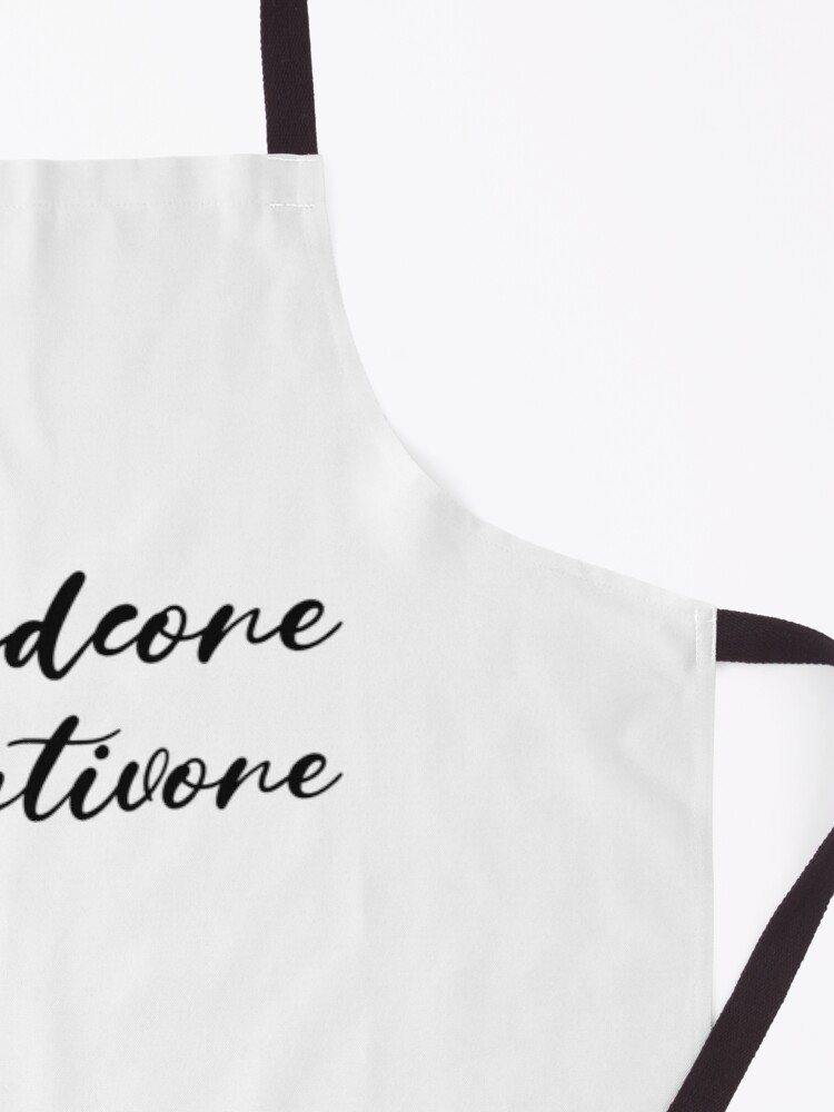 Alternate view of Hardcore Plantivore Black Apron