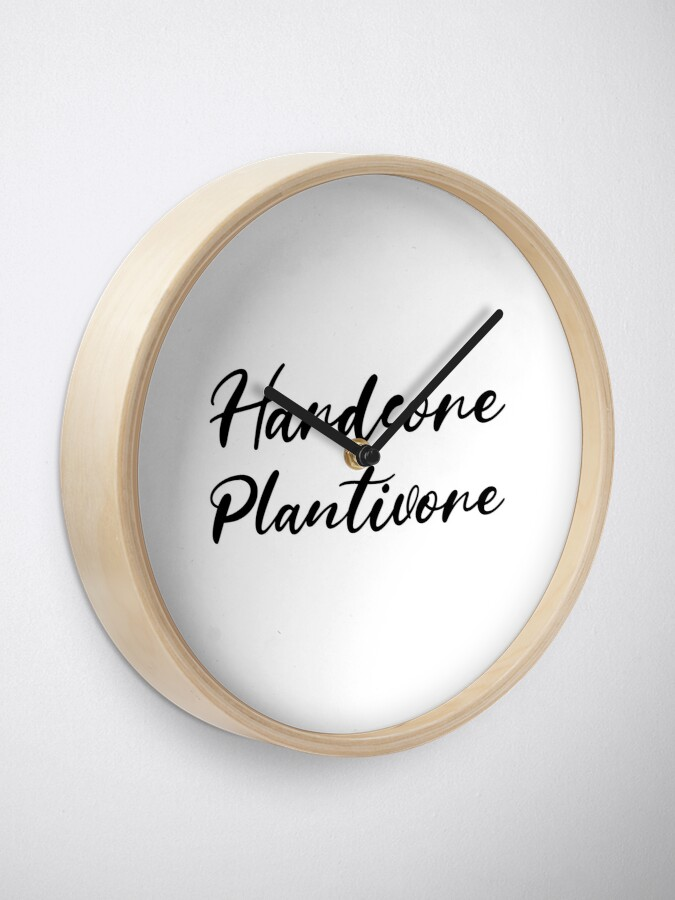 Alternate view of Hardcore Plantivore Black Clock