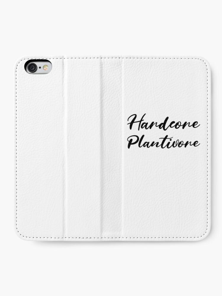 Alternate view of Hardcore Plantivore Black iPhone Wallet