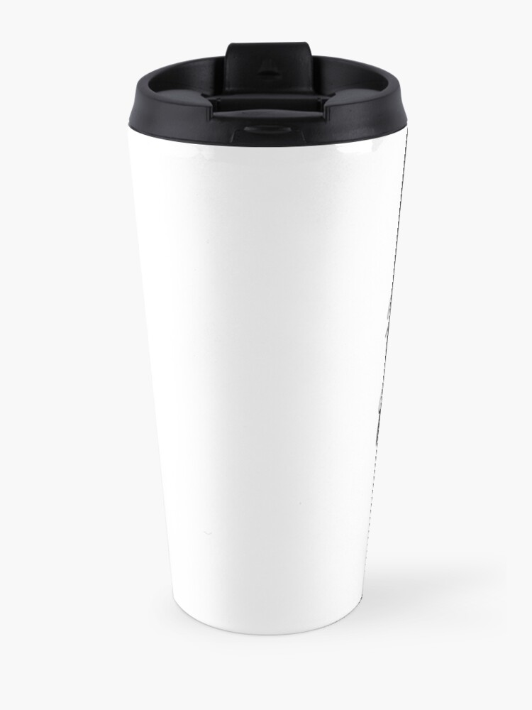 Alternate view of Hardcore Plantivore Black Travel Mug