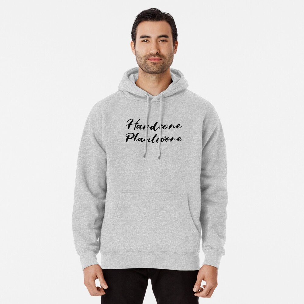 Hardcore Plantivore Black Pullover Hoodie