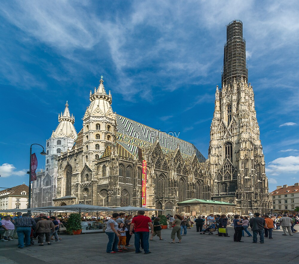 Quot St Stephen S Cathedral Vienna Austria Quot By Ivo Velinov