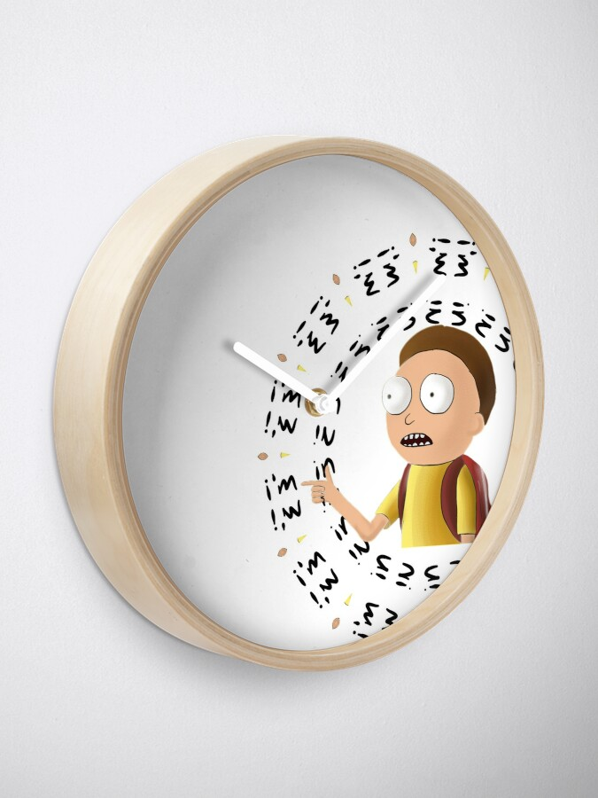 Alternate view of Rick and Morty TM - I'm In -2 Clock