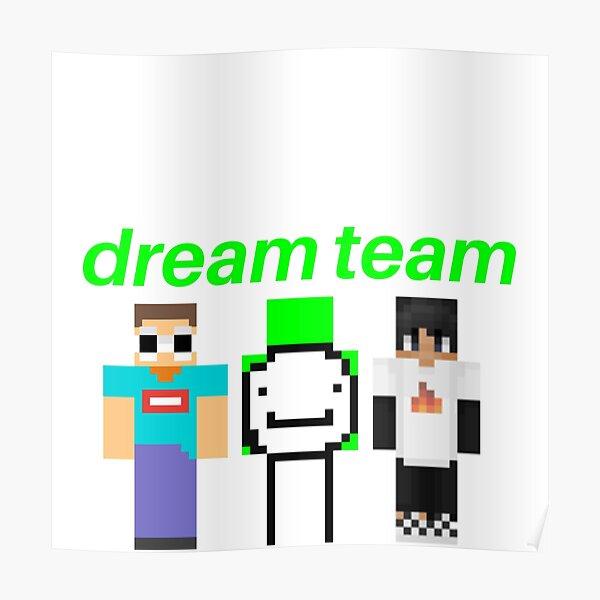 Diamond Block Dream Poster By Topazies Redbubble