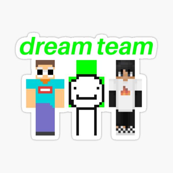 Dream Minecraft Skin Sticker By Topazies Redbubble