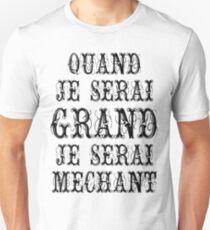 Malicious french style Unisex T-Shirt