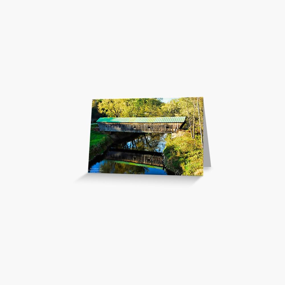 Hammond Covered Bridge Greeting Card