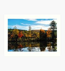 Glowing Waters of Vermont Art Print