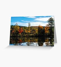 Glowing Waters of Vermont Greeting Card