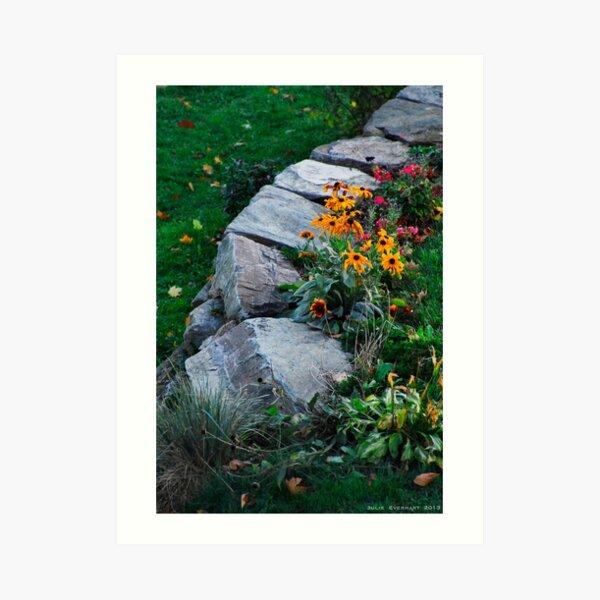 Brigid's Flowers Art Print