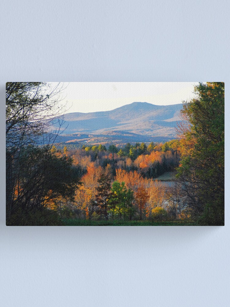 Alternate view of Mountains of Belmont Canvas Print