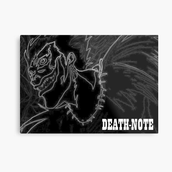 Death Note Ryuk Metal Print