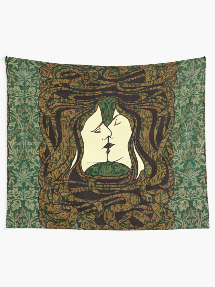 Alternate view of The Lovers Tapestry
