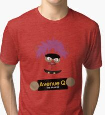 Avenue Q - Trekkie Tri-blend T-Shirt