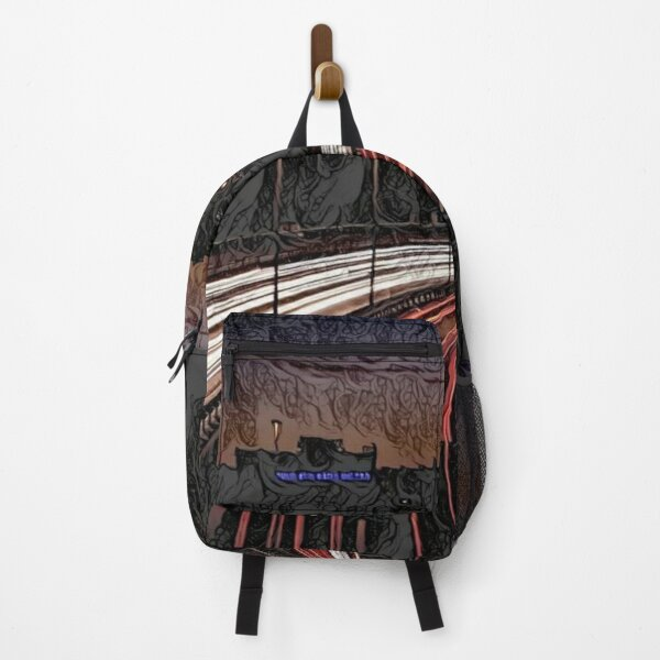 Scary City Sketch | Horror Art  Backpack