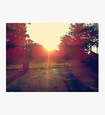 Sun Flare Photographic Print