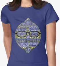 Lemon Women's Fitted T-Shirt