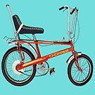 Retro Chopper Bike by Grainwavez