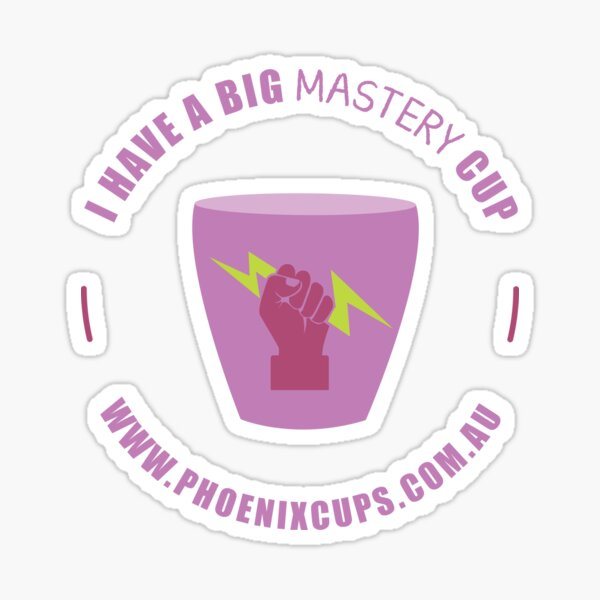 Mastery Cup Sticker