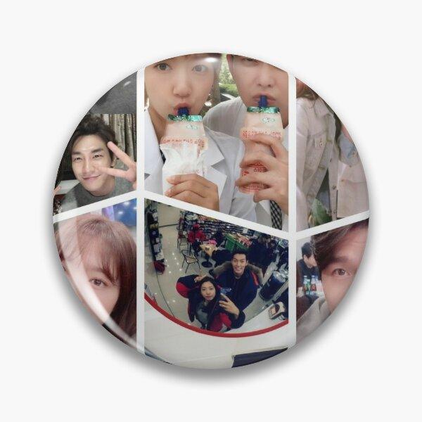 Park Shin Hye Selfie Collage Pin