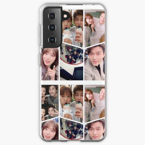Park Shin Hye Selfie Collage Samsung Galaxy Soft Case