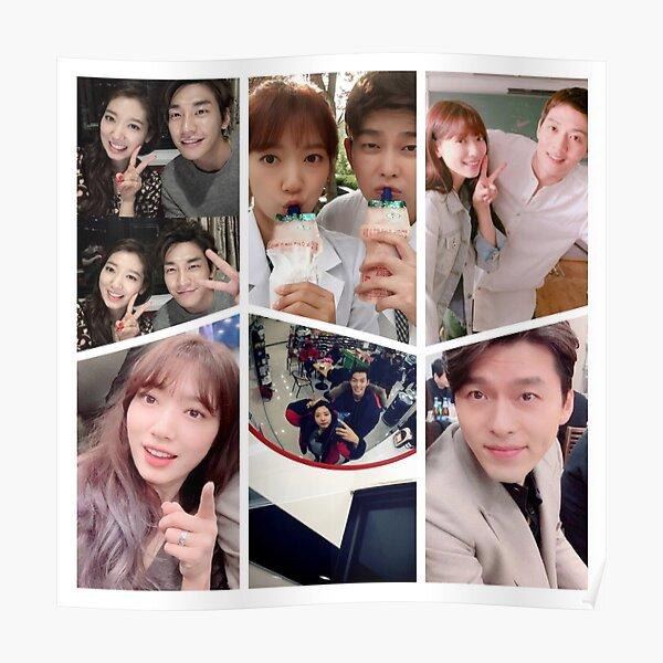 Park Shin Hye Selfie Collage Poster