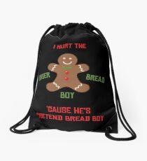 Pretend-Bread Boy [Carl Poppa] Drawstring Bag
