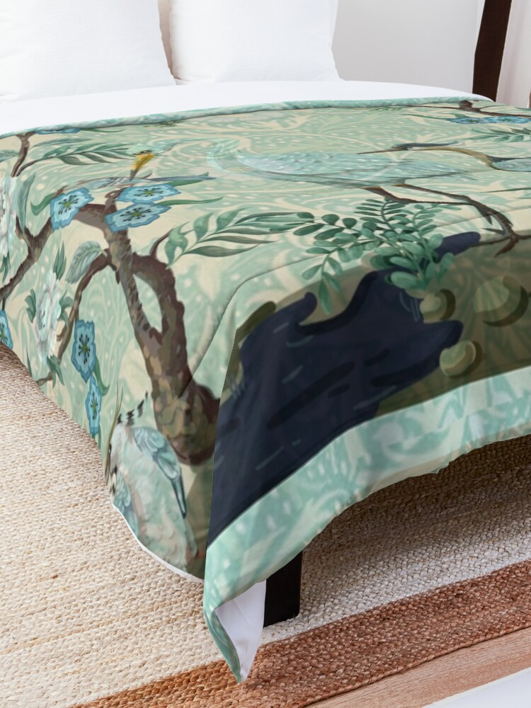 Alternate view of The Chinoiserie Panel Comforter
