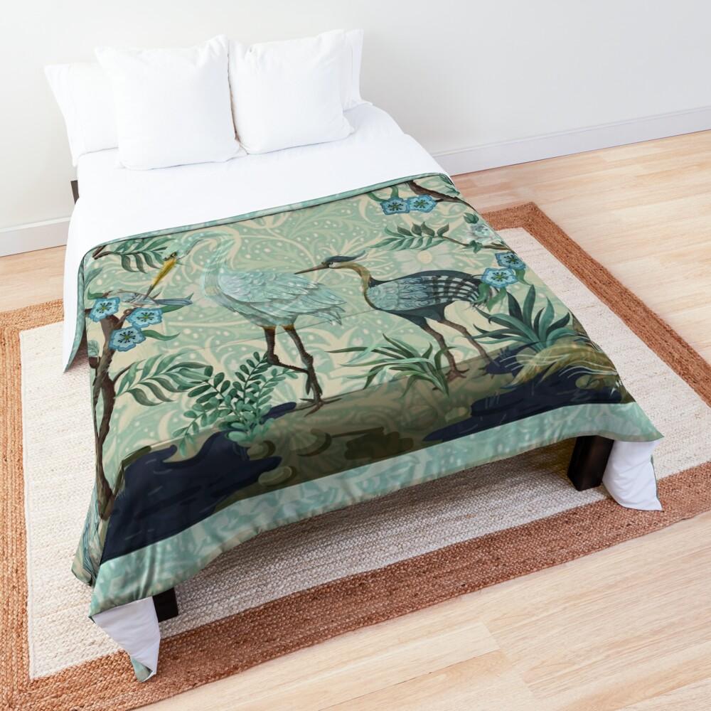 The Chinoiserie Panel Comforter